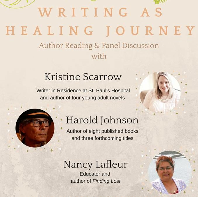 """Writing is a safe place,"" says Weyakwin author and panellist at Writing as a Healing Journey event"