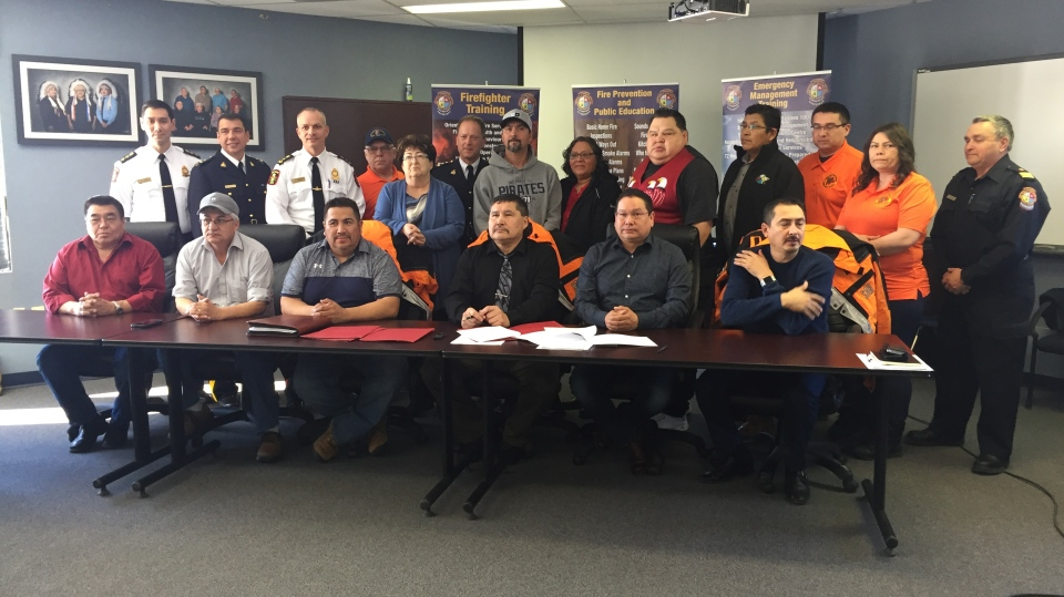 PAGC, local police, RCMP sign search and rescue agreement