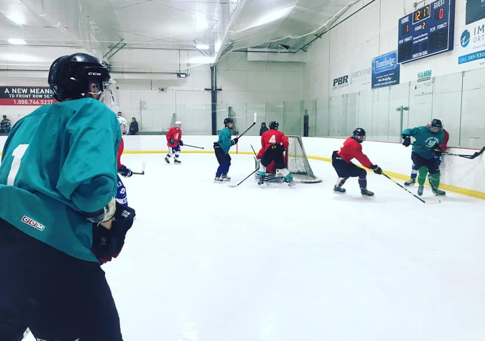 Ice Wolves conclude spring camp