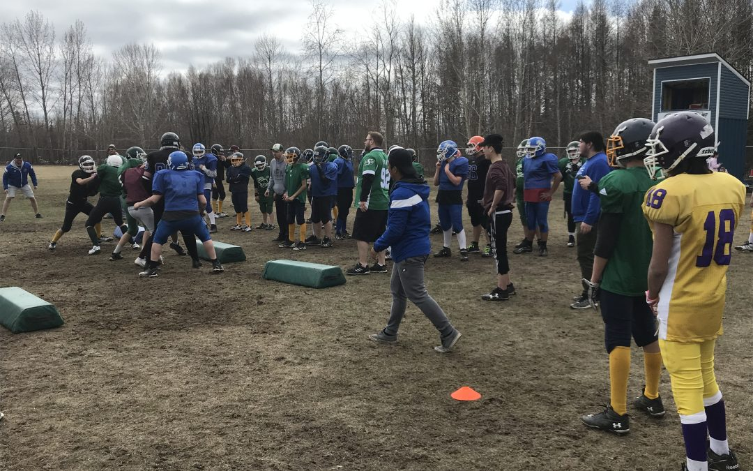 Flag football event this weekend in La Ronge
