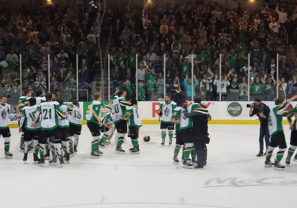 Raiders capture WHL title
