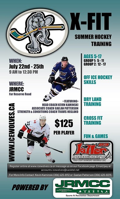 Ice Wolves to host summer hockey training camp