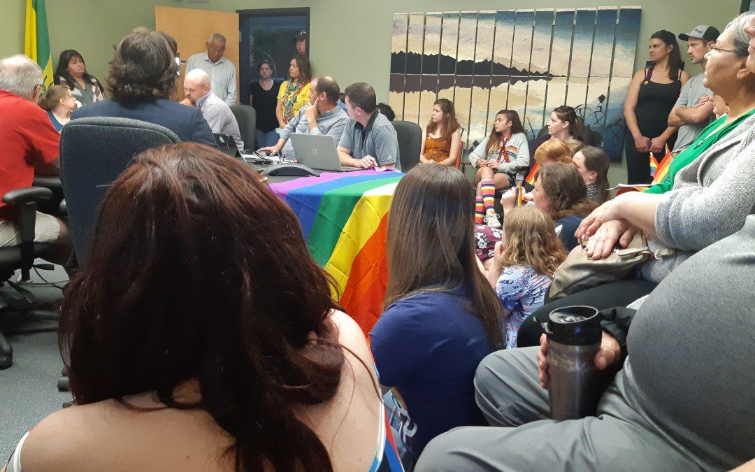 La Ronge town council approves pride flag