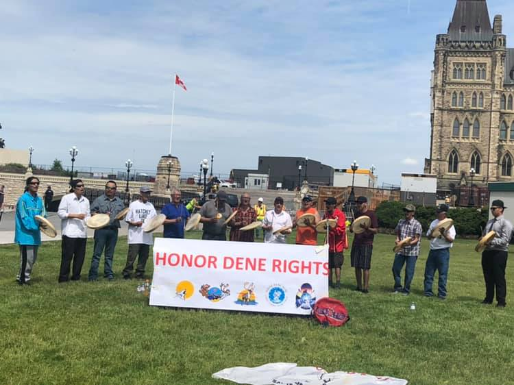 Athabasca Dene may to go to court over land claims agreement
