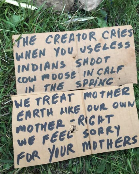 FSIN says racism thriving in Sask. after signs found at culture camp