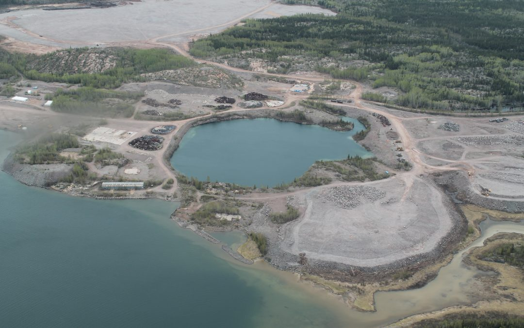 Gunnar mine remediation contract awarded to QM Points