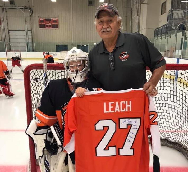Leach heading to Flin Flon for hockey camp
