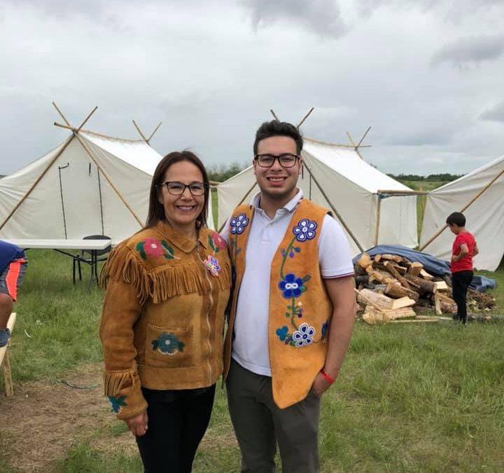 First Nation entrepreneur takes aim at Sheer's riding