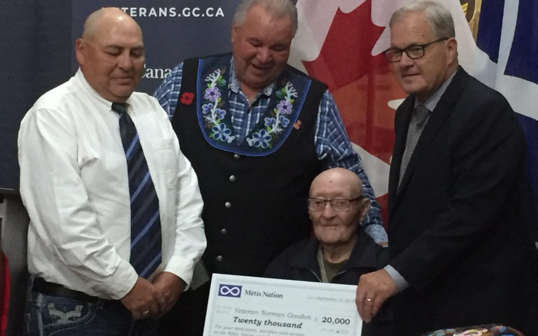 Ottawa apologizes to Metis WWII vets for post war treatment