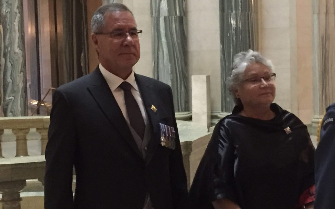 Mirasty installed as Lieutenant Governor