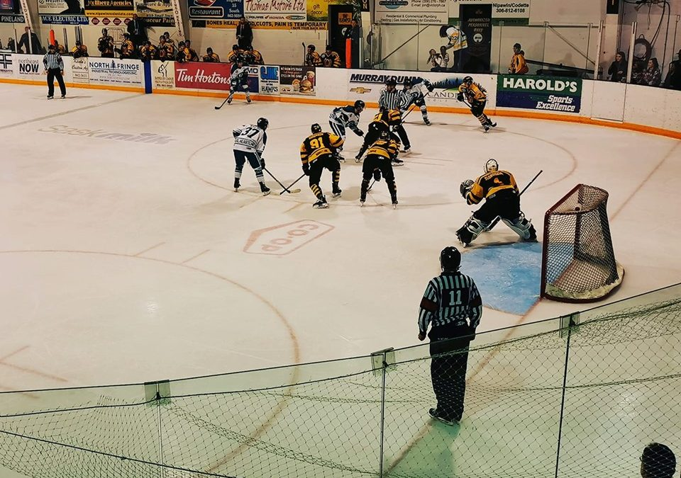 Ice Wolves edged in Nipawin