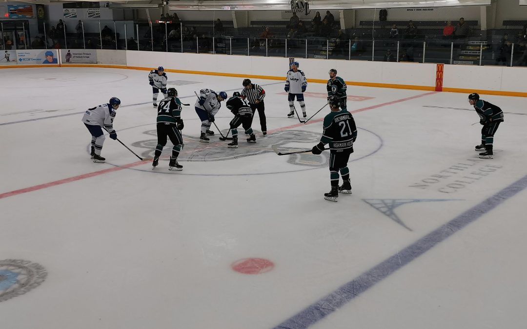 Ice Wolves come up short versus Mustangs