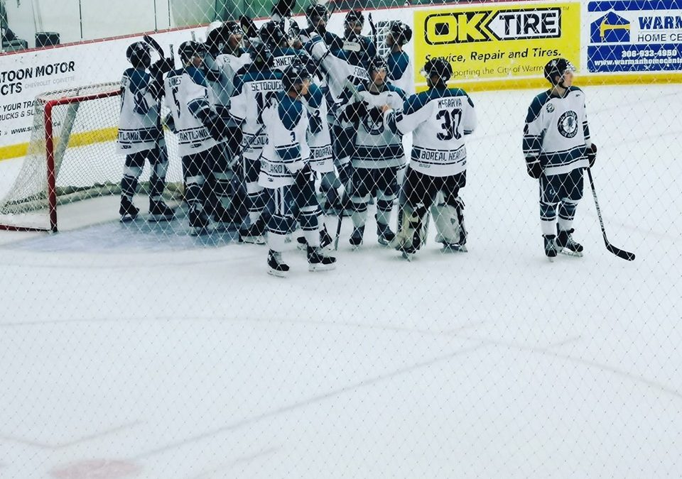 Ice Wolves defeat Klippers