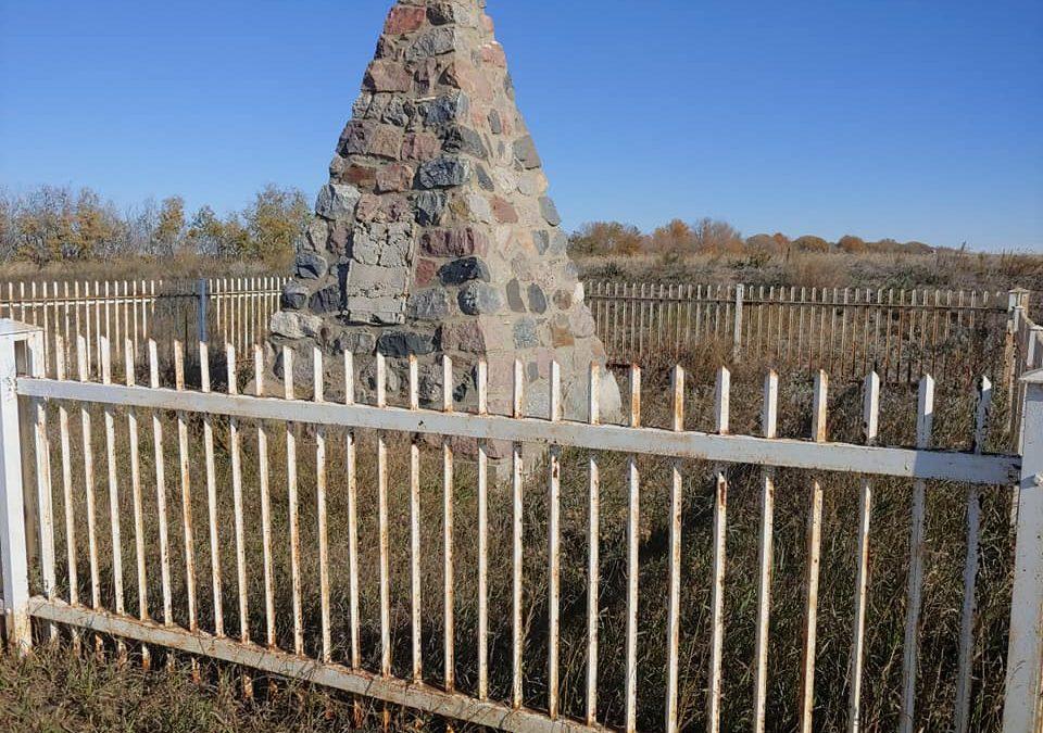 Work to help restore historic Treaty 6 cairn underway