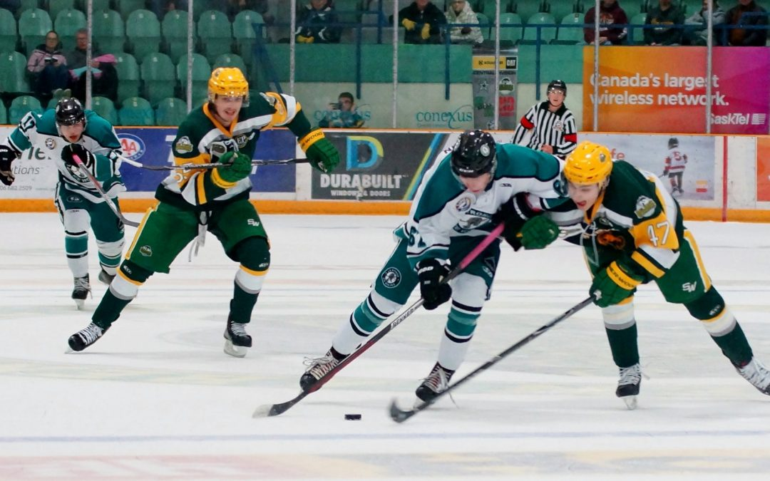 Ice Wolves nearly sweep weekly SJHL awards
