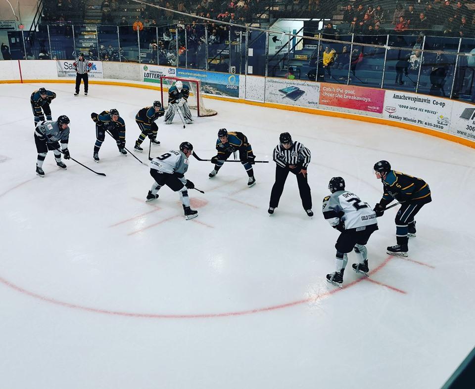 Ice Wolves earn point versus North Stars - MBC Radio