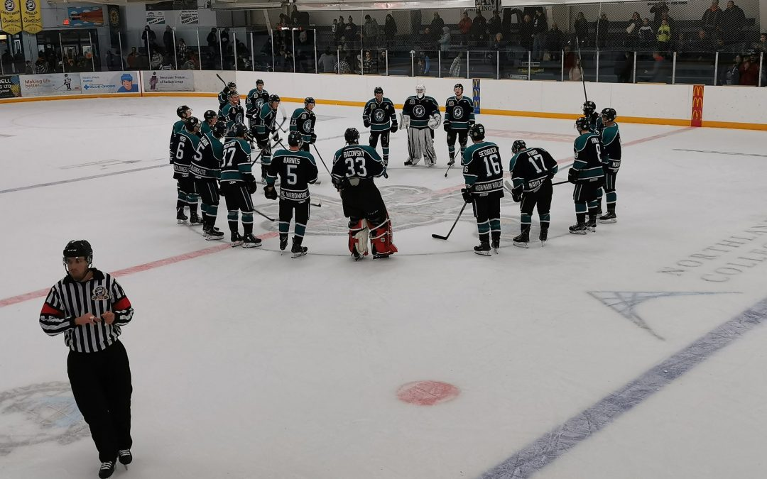 Ice Wolves tame Mustangs in OT