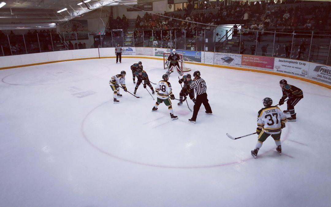 Ice Wolves' win streak ends