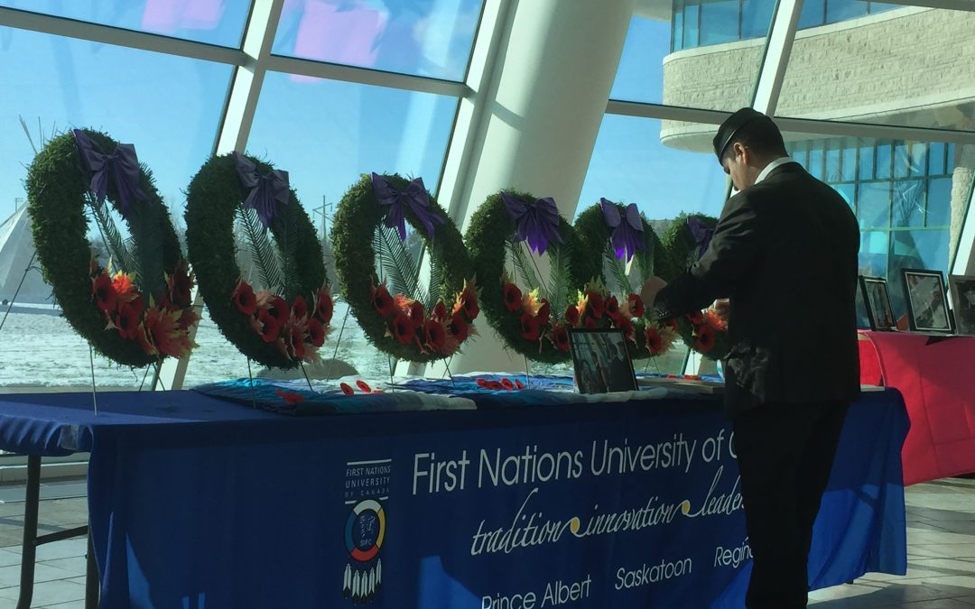 First Nations veterans remembered
