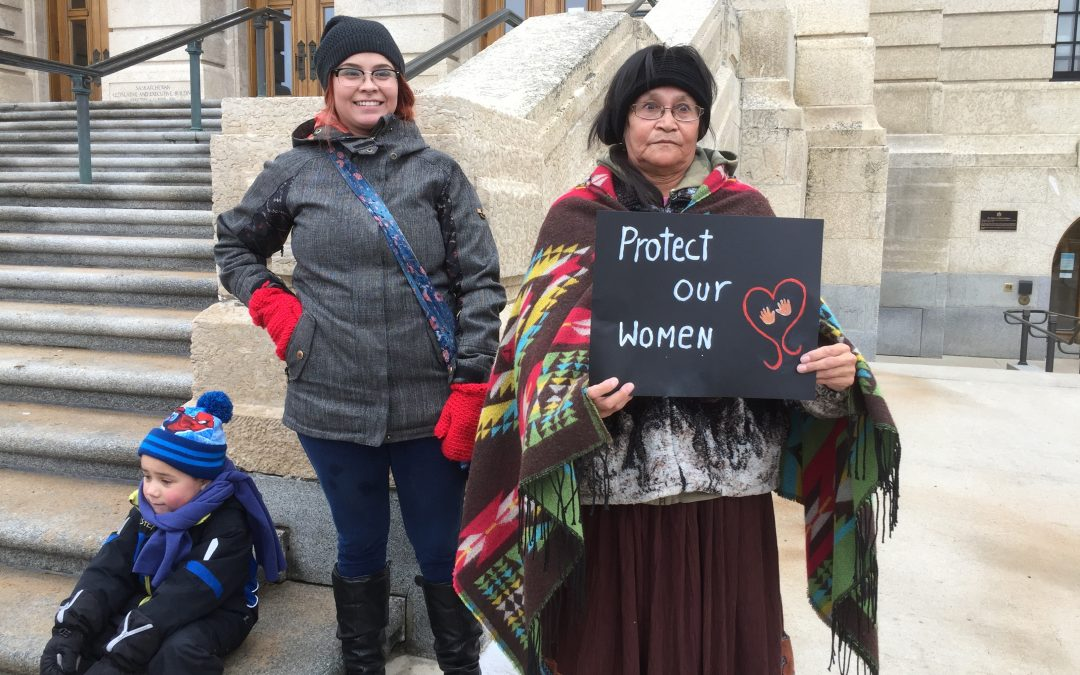 Indigenous women march in solidarity over forced or coerced sterilization lawsuit