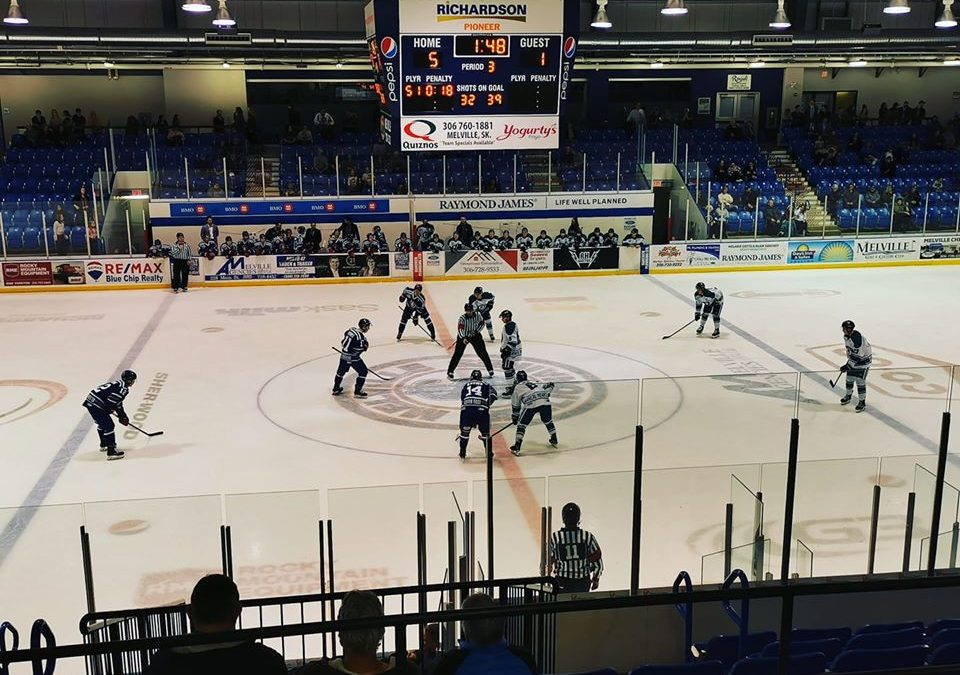 Ice Wolves come up short in Melville