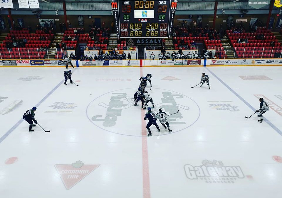 Ice Wolves shutout in Melfort