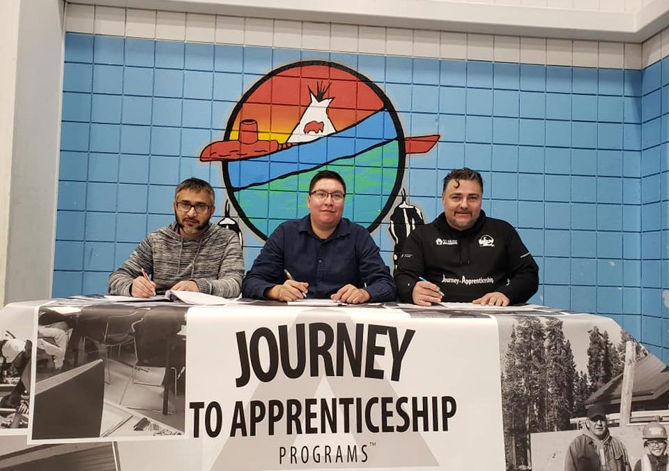 Waterhen Lake First Nation high school students to build an elder a new home