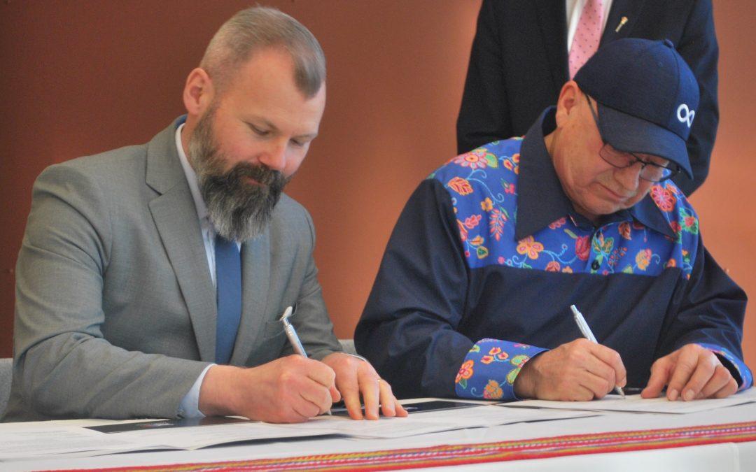 Métis Nation, province sign memorandum of understanding on traditional hunting rights