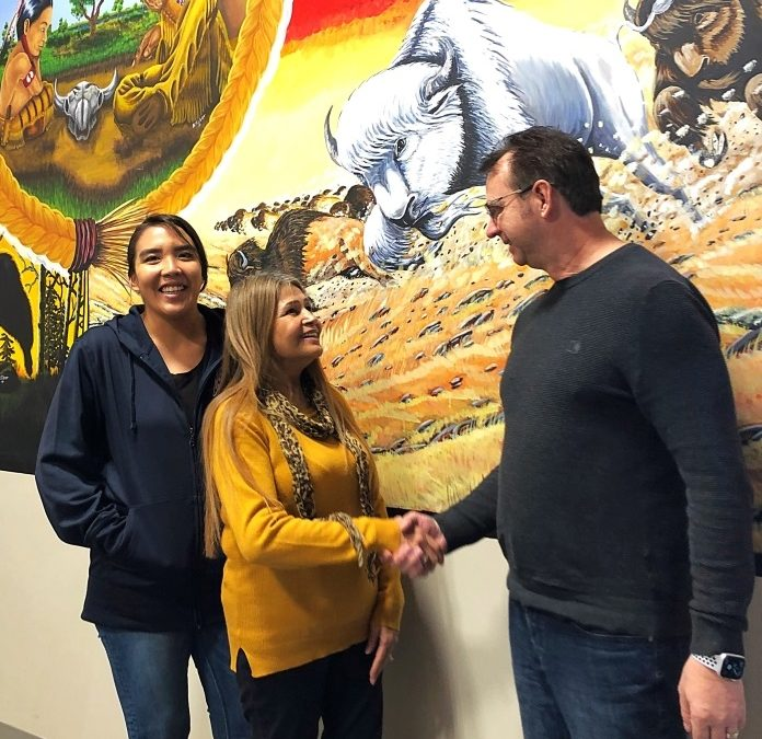 Touchwood Agency Tribal Council and Carlton Trail College to share space