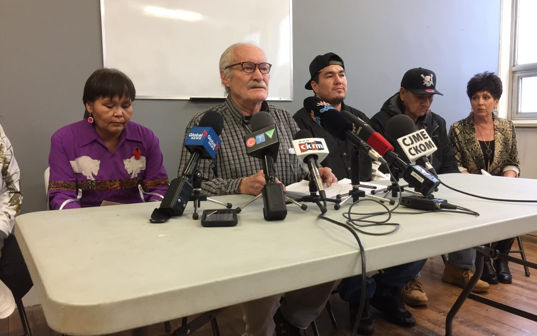 Lonechild family calls for Regina police to apologize, fire and suspend officers involved in Indigenous man's arrest