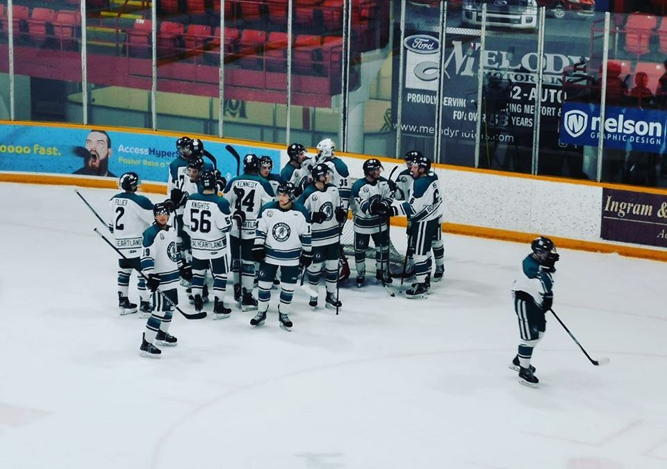 Ice Wolves freeze Mustangs
