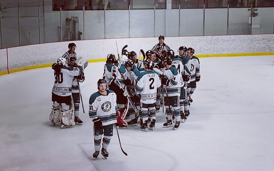 Ice Wolves clinch playoff spot!