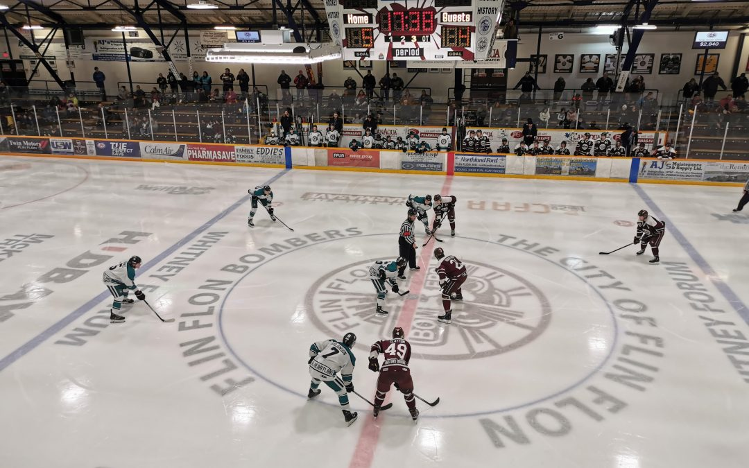 Ice Wolves come up short in Flin Flon