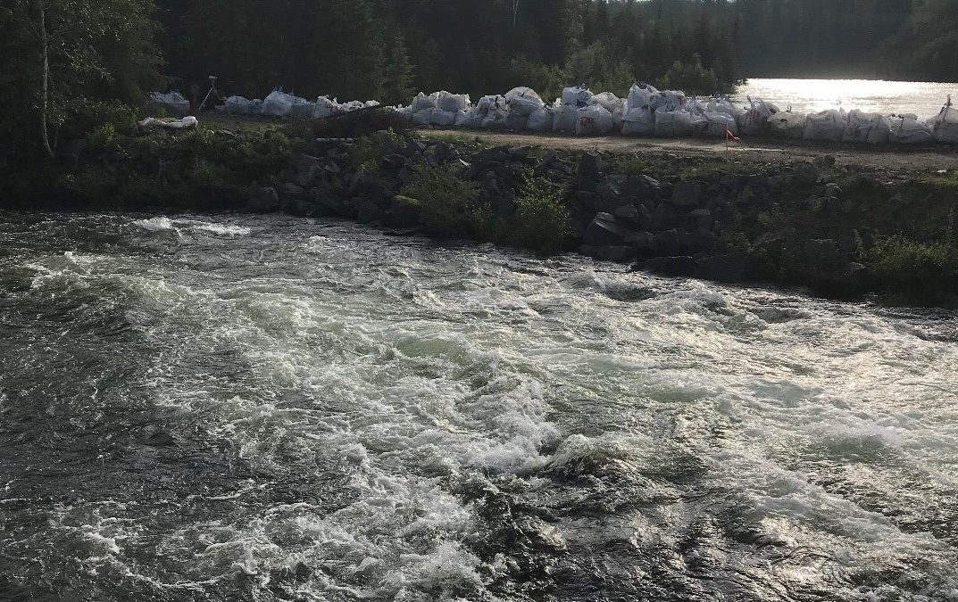 Water Security Agency says high water levels could cause La Ronge dam to fail