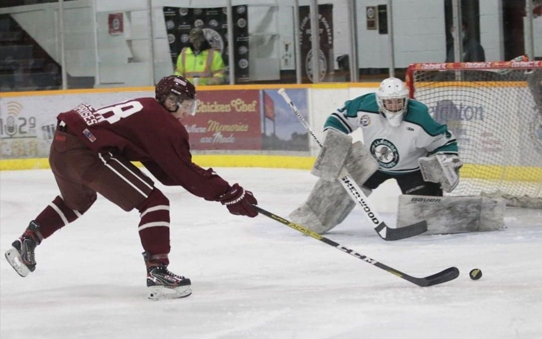 Ice Wolves fall in Flin Flon