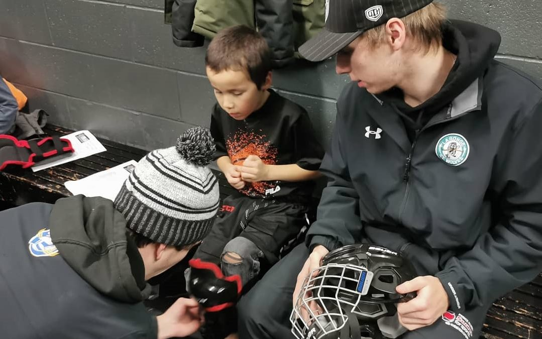 More hockey gear for northern Sask. kids