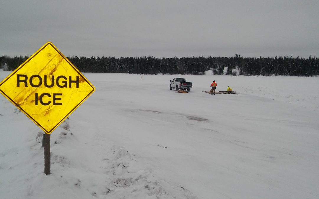 Province hoping for good ice road season