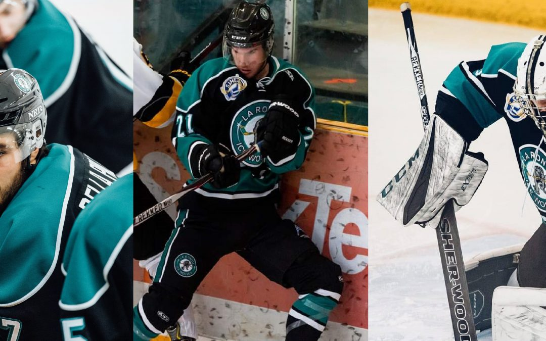 Three Ice Wolves recognized by league