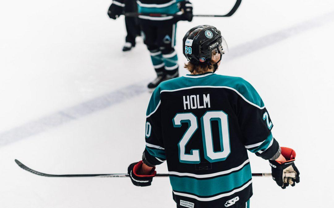 Holm nominated for SJHL Community Ambassador award