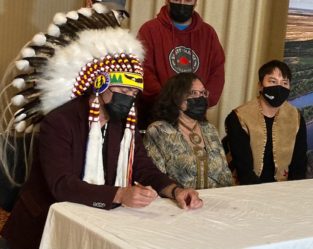 Northern First Nation asserts traditional rights over Saskatchewan River Delta