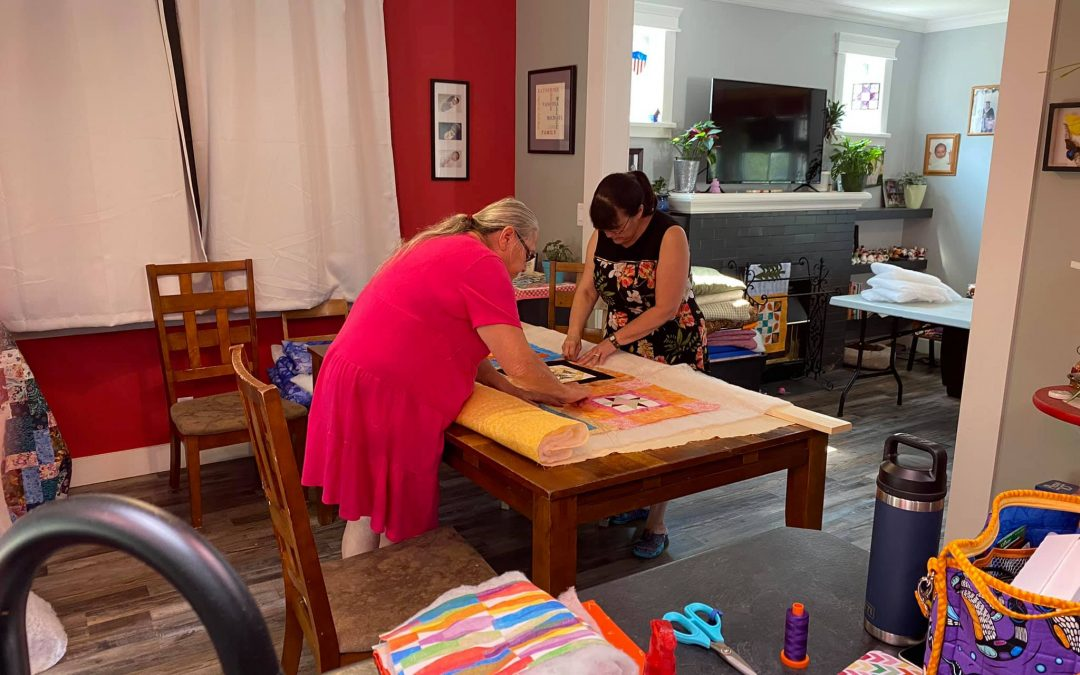 Online quilting group working to help residential school survivors
