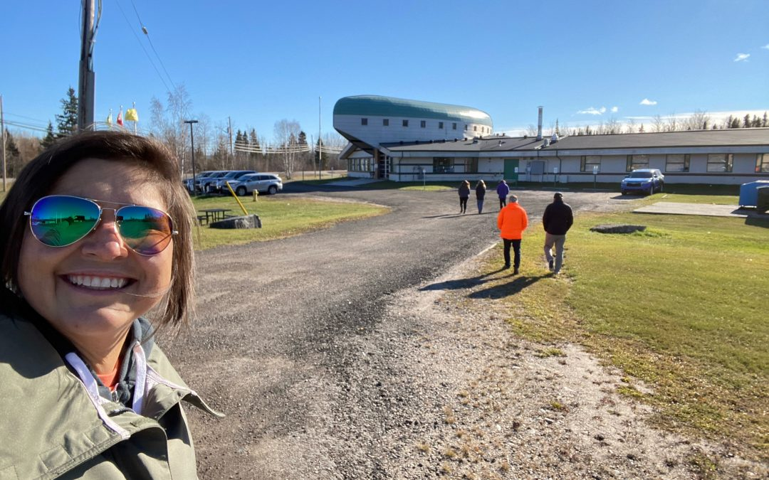 Northlands College participates in Walk for Wenjack event